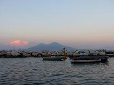 Ma première fois à Naples et sur la petite île de Procida.