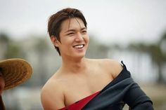 Lee Min Ho's New Year's Resolution: Improving His Body
