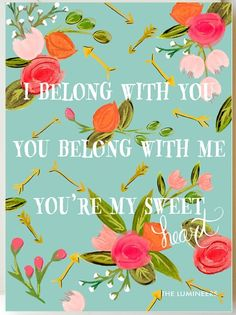 You're my Sweet <3