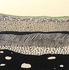 underground layers silkscreen by Erin Dollar