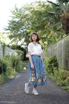 [Street Style] 荒井愛花 | 大学生 | Harajuku (Tokyo)