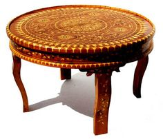 Mogador thuya table