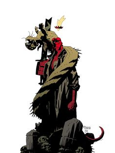 Hellboy in Hell #1 by Mike Mignola