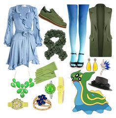 """Pokemon - Gastrodon (East Sea)"" by dolliehawthornes ❤ liked on Polyvore featuring Zimmermann, WearAll, adidas, Gigi Burris Millinery, Forzieri, Christina Debs, CAFèNOIR, Color My Life, Toy Watch and Lord & Taylor"