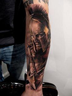 Spartan 300 tattoo
