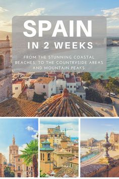 12 to 14 day Spain rail tour. Travel to: Barcelona, Valencia, Madrid, Seville, and Granada. 2 weeks Spain itinerary. 2 week Spain train trip. Más