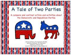 Compare contrast democrats republicans essay
