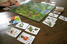 playing wildcraft game- article has other great ideas for learning herbs with kids!