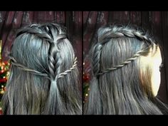 ▶ Tauriel Hair Tutorial | The Hobbit - YouTube