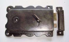 Restored Original Edwardian Cast Iron Rim Lock & Key Door Bells, Cast Iron, Door Handles, Restoration, New Homes, House Ideas, Key, Doors, The Originals