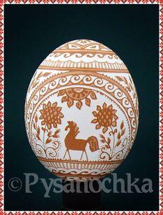 etched chicken egg, eBay