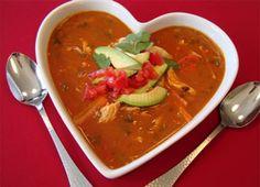Vitamix Tortilla Soup #vitamix #recipe #soup