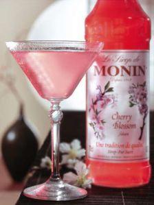 Monin Cherry Blossom Cocktail Recipes