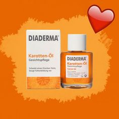 5 INGENIOUS dm products that you are guaranteed to have overlooked - Diaderma facial oil carrot, € - Beauty Kit, Beauty Hacks, Hair Beauty, Nail Growth, Clear Nail Polish, Beauty Regime, Putting On Makeup, Oily Hair, Facial Oil