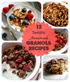 12 Incredible Ways to Make Your Own Granola!