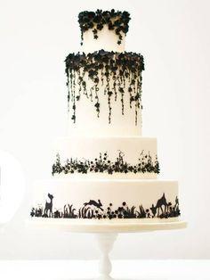 woodland creatures cake | Tumblr