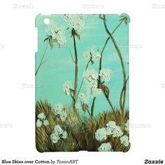 Blue Skies over Cotton iPad Mini Case