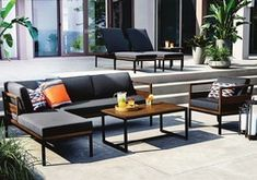 GLUCKSTEINHOME Lucca 3pc conversation set from Home Outfitters $1,199.99 (25% Off) -