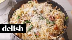 Tuscan Chicken Pasta - Italian Chicken Pasta Sub in spaghetti squash Spaghetti Recipes, Pasta Recipes, Chicken Recipes, Dinner Recipes, Cooking Recipes, Tuscany Chicken Recipe, Italian Recipes, New Recipes, Healthy Recipes