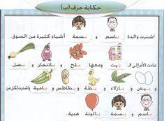 حرف ب Arabic Alphabet Letters, Alphabet Letter Crafts, Alphabet For Kids, Preschool Alphabet, Learning Arabic, Fun Learning, Learn Arabic Online, Arabic Lessons, Kids Study