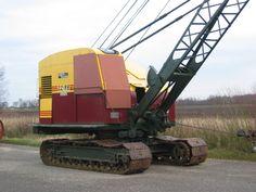 Construction Images, Bucyrus Erie, Digger, Ho Scale, Heavy Equipment, Shovel, Crane, Classic, Derby