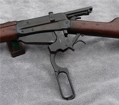 Winchester M1895 A unique lever-action because of its history and caliber. Chambered in 7.62x54R, these rifles were built on contract and supplied to the Russians. It uses the same stripper-clip guide as the Mosin Nagant rifle. Very rare in the U.S since only a few ever made it back to the U.S as surplus, finding one in its original configuration is a challenge. Of those that came back to the U.S, majority have been converted into sporterized hunting rifles. (GRH) Weapons Guns, Guns And Ammo, Firearms, Shotguns, Lever Action Rifles, Fire Powers, Hunting Rifles, Cool Guns, Le Far West
