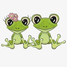 Frog cartoon couple, Cartoon Animal Lovers, Lovers PNG and Vector Funny Frogs, Cute Frogs, Clipart, Frosch Illustration, Frog Drawing, Frog Tattoos, Frog Pictures, Frog Art, Frog And Toad