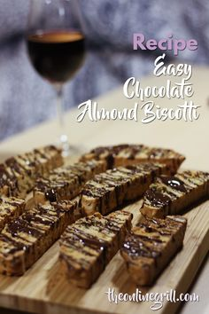 This chocolate biscotti recipe brings back fond memories of family holidays in Italy, and makes for a brilliant gift for Mother's Day or a birthday.  Plus: It has chocolate.