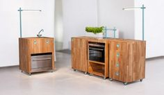 Design Inspiration: Functional Kitchen for Small Space