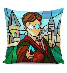 Image result for harry potter stained glass