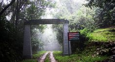 Entrance of Silent Valley National Park