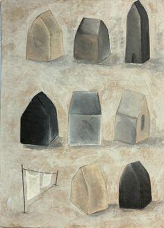 Peinture originale sur carton. par AtanMouala sur Etsy