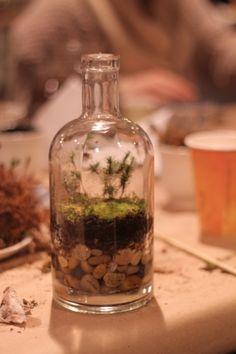 AITA bottle terrarium event at Bartram's Garden.