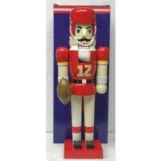"13.5"""" Kansas City Chiefs Nutcracker Figurine NFL"