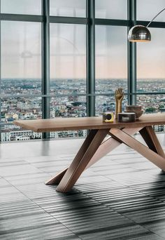 Bonaldo Big Table, Live Edge | Furniture | Pinterest | Consoles ...