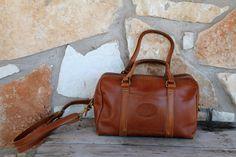 VINTAGE Satchel Handbag by AnnBumblebeehandbags on Etsy