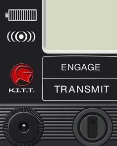 Knight Rider - K.I.T.T. - Apple Watch Face