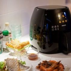 Philips Avance AirFryer XL with MealEasy & Recipes Actifry Recipes, Electric Air Fryer, Air Fryer Review, Slow Cooker, Best Air Fryers, No Cook Meals, Food To Make, Good Food, Food And Drink