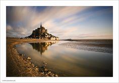 Mont St. Michel by Ian Bramham, via Flickr