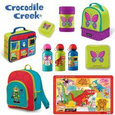 Going Back to School with Crocodile Creek Backpacks