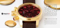 elegantsis watch JT48 Military Chronograph