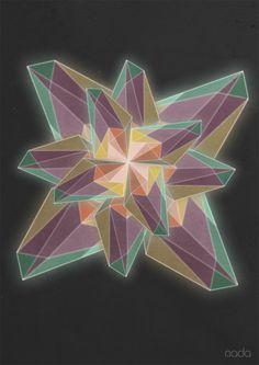 The Prismatic Series by Nada Al-Rajeh, via Behance
