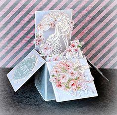 Mon joli bricolage..: Красивых коробочек пост!! :)