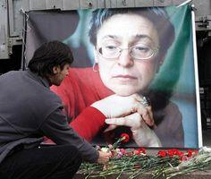 Otto anni fa l'omicidio di Anna Politkovskaja (ANSA)