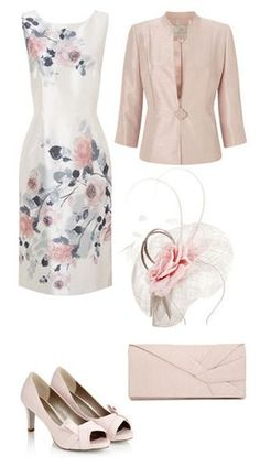 Summer Mother Of The Bride Outfits | Summer Wedding Outfits | Summer Dresses | Suits | Shoes | Hats | Bags