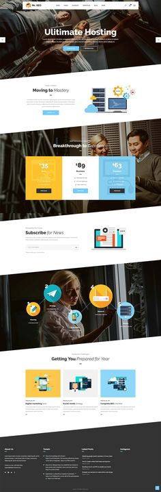 Make a top-notch website with Mr.SEO, an SEO, marketing agency and social media theme! It includes an assortment of functionalities specifically made for the aforementioned businesses, and is compatible with SEO-specific plugins.