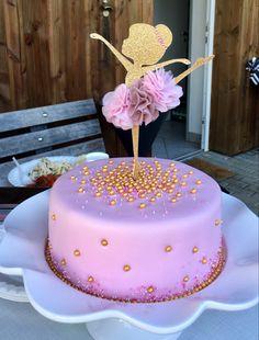 Birthday Surprise Kids, Ballerina Birthday Parties, 3rd Birthday Cakes, Ballerina Party, Torte Ballerina, Diy Cake Topper, Cake Toppers, Simple Birthday Decorations, Baby Girl Cakes