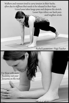 Lizard Pose for Tight Hips