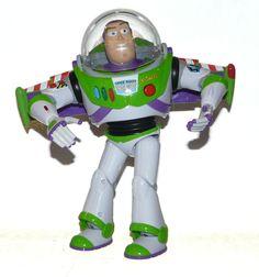 "Disney Buzz Lightyear Toy Story Action Figure Thinkway Toys Light Up Talking 12"" #ThinkwayToys"