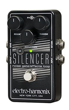 Electro-Harmonix The Silencer Guitar Noise Gate, Effects Loop  http://www.instrumentssale.com/electro-harmonix-the-silencer-guitar-noise-gate-effects-loop/